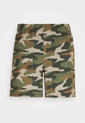 JCOZWOVEN CAMO - Sports shorts - forest night
