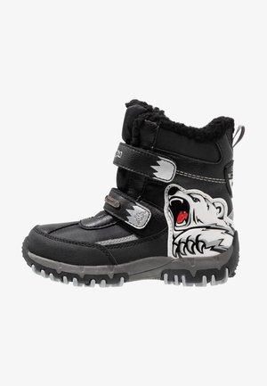 CLAW TEX  - Snowboots  - black/silver