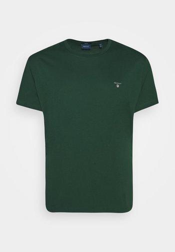 PLUS THE ORIGINAL - Basic T-shirt - tartan green