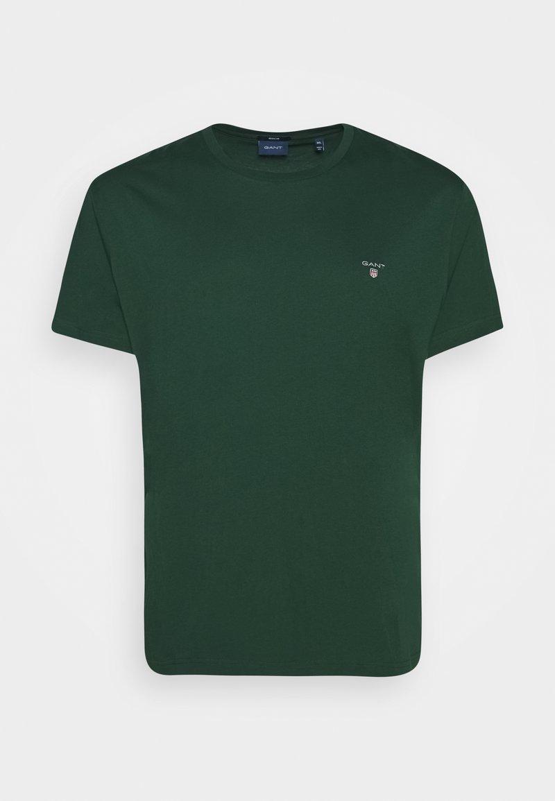GANT - PLUS THE ORIGINAL - Camiseta básica - tartan green
