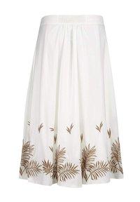 Alba Moda - A-line skirt - weiß haselnuss - 5