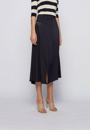 VIZURA - A-line skirt - open blue
