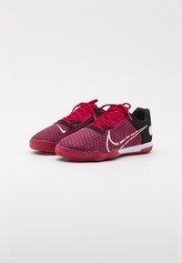 Nike Performance - REACTGATO  - Indoor football boots - cardinal red/crimson tint/black/white - 1