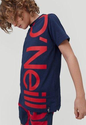 CALI - T-shirt print - ink blue