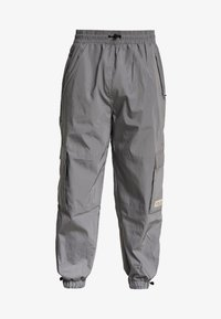 Fila - FILA FOR WEEKDAY MALEK REFLECTIVE TRACKPANTS - Tracksuit bottoms - silver reflective
