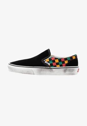 CLASSIC - Slip-ons - black/multicolor