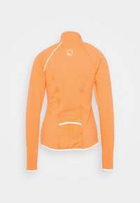 ONLY Play - ONPPERFORMANCE RUN BRUSHED ZIP - Sports jacket - sunset orange/black - 1