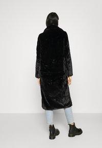 ONLY - LONG COAT - Classic coat - black - 2