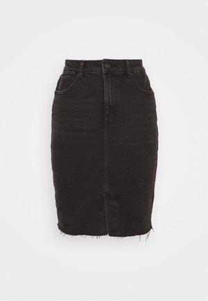 ONLEMILY LONG SKIRT MAE - Pouzdrová sukně - black