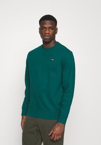 Levi's® - NEW ORIGINAL CREW UNISEX - Sweatshirt - greens - 0