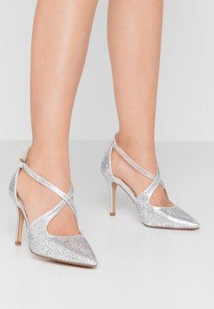 CAROLIINA - Escarpins - silver