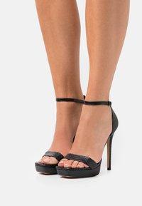ALDO - SCARLETT - Platform sandals - black - 0