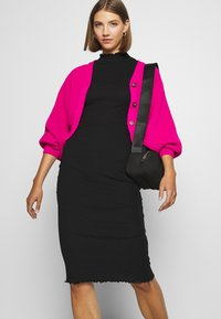 Even&Odd - Vestito di maglina - black - 4