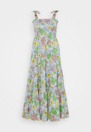 PRINTED TIE SHOULDER DRESS - Vapaa-ajan mekko - wallpaper