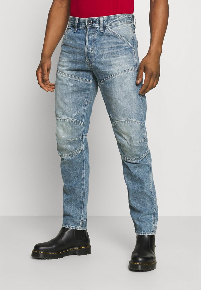 5620 3D ORIGINAL RELAXED TAPERED - Jeansy Relaxed Fit - sun faded ice fog destroyed
