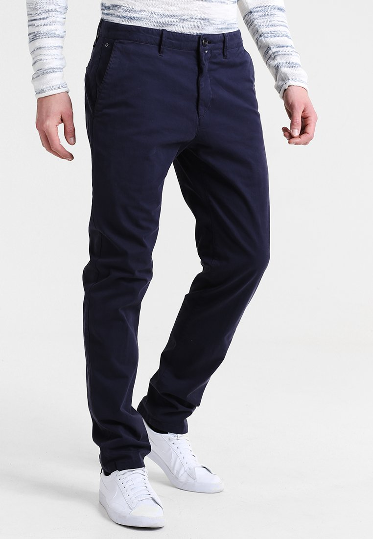 Marc O'Polo - MALMÖ - Chinos - blue bird
