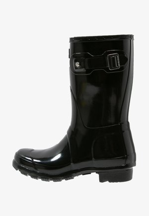 ORIGINAL SHORT GLOSS VEGAN - Wellies - Wellies - black