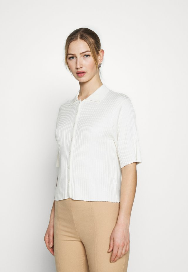 CAT - Button-down blouse - white