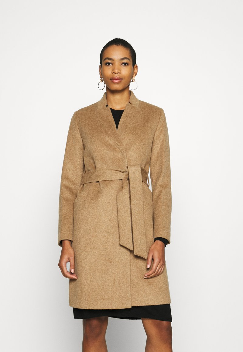 Selected Femme - SLFMELLA COAT - Manteau classique - tigers eye