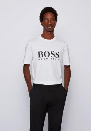 TIBURT - T-shirt imprimé - white