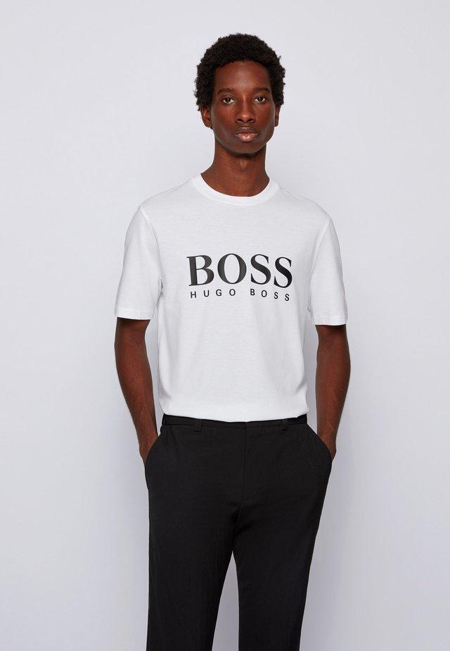 TIBURT - T-shirt med print - white