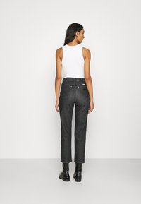 Wrangler - WILD WEST - Straight leg jeans - black magic - 2