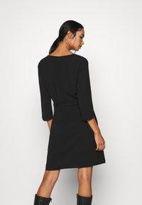 Vila - VIRASHA DRESS - Day dress - black - 2