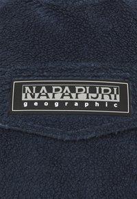 Napapijri The Tribe - PATCH CURLY UNISEX - Felpa con cappuccio - blue nights - 2