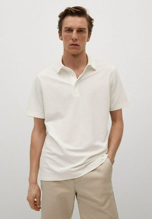 TESLAP - Polo shirt - blanc cassé