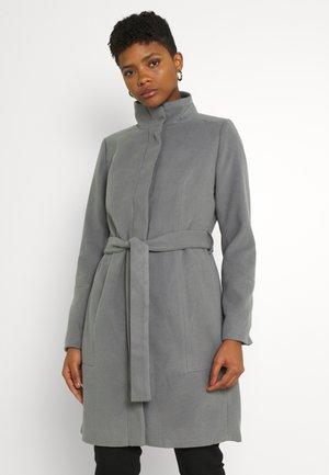 VIPOKU HIGH NECK COAT - Klassisk kåpe / frakk - mottled grey