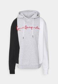 Karl Kani - ORIGINALS BLOCK HOODIE - Sweatshirt - ash grey - 4