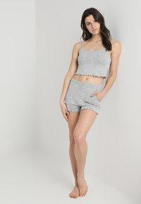 Even&Odd - Pyjamaser - mottled light grey - 1