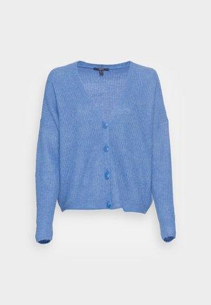 FLOW CARDIGAN - Cardigan - bright blue