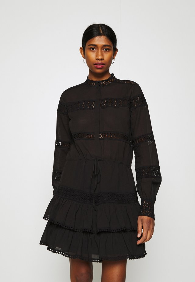SADIE DRESS - Paitamekko - black