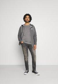 Nike Sportswear - Sudadera con cremallera - iron grey/ice silver/white/ - 1
