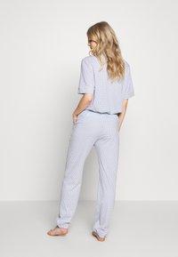 Triumph - MIX & MATCH TROUSERS - Pyjamasbukse - blue light combination - 2