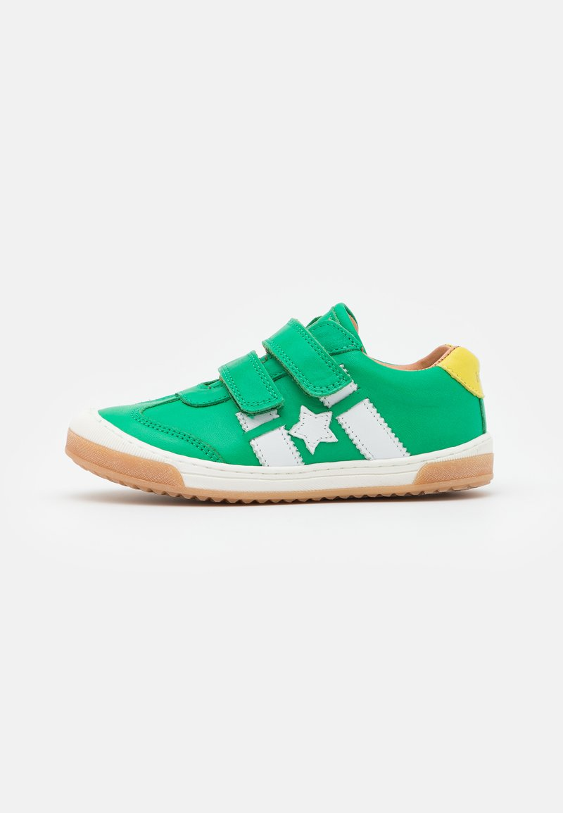 Bisgaard - JOHAN - Touch-strap shoes - green