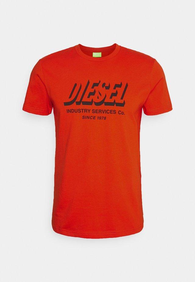DIEGOS UNISEX - Printtipaita - orange