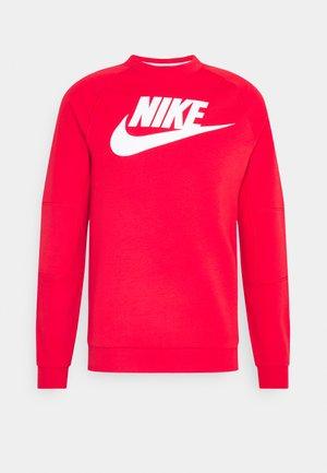 MODERN - Sweatshirt - university red/white