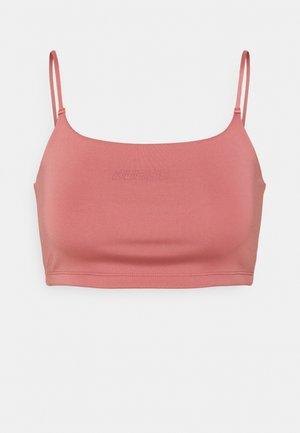 Light support sports bra - vintage peony