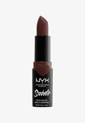 SUEDE MATTE LIPSTICK - Lipstick - 7 cold brew