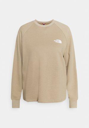 OVERSIZED HOODIE - Sweatshirt - flax
