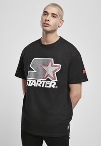 Starter - Printtipaita - blk/gry - 0