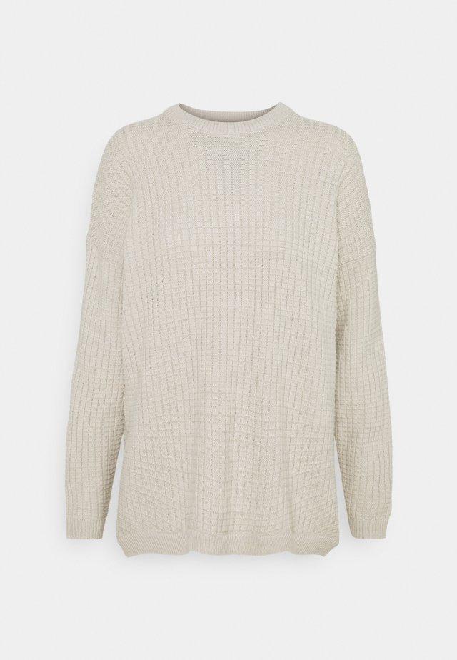 ONLKARLY LIFE - Stickad tröja - pumice stone