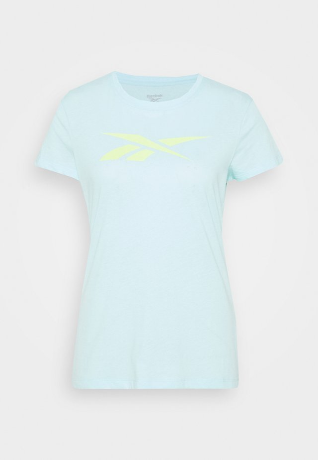 TRAINING ESSENTIALS VECTOR GRAPHIC - T-shirts med print - light blue