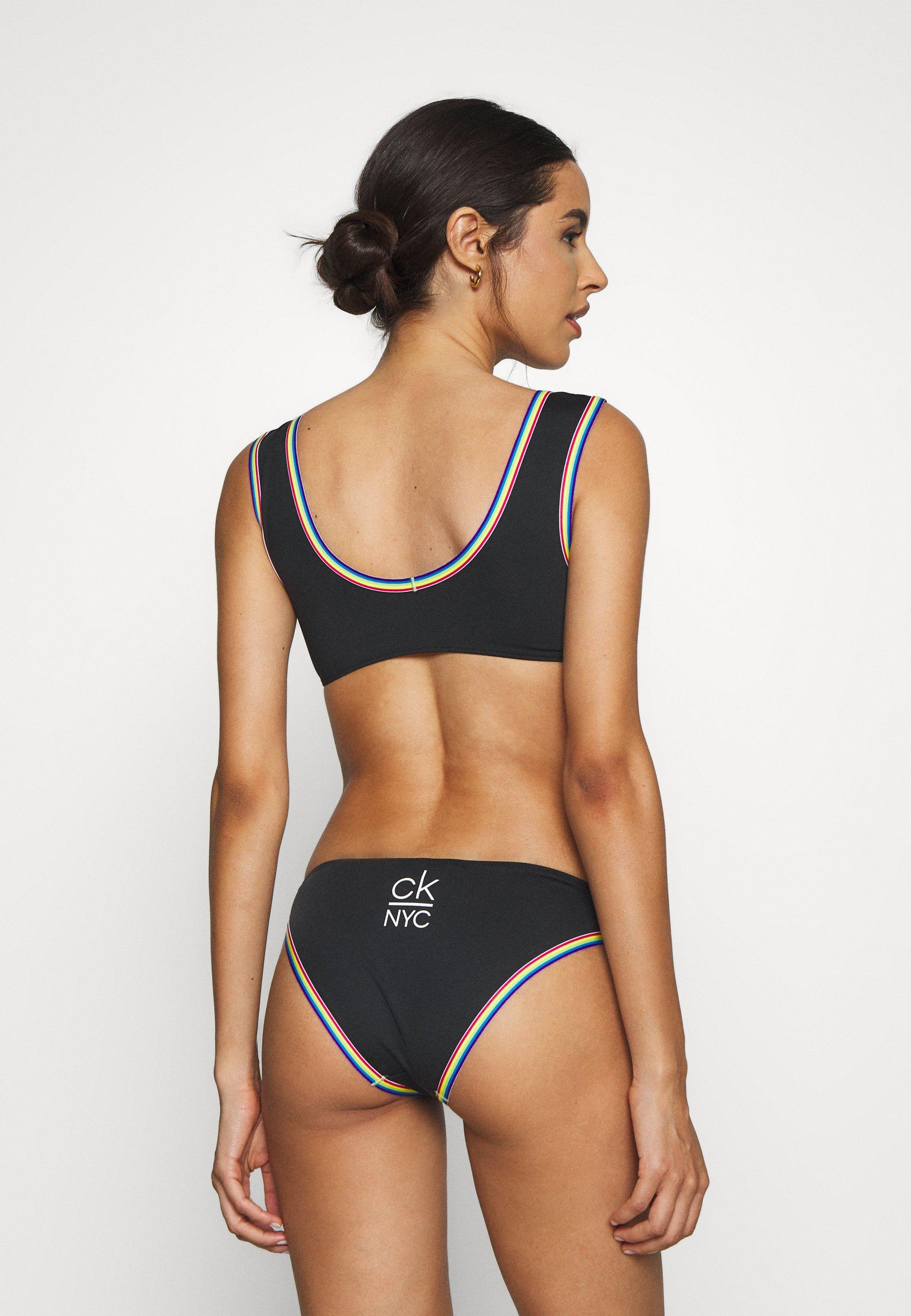 Calvin Klein Swimwear Ck Pride Edit Cheeky - Bikiniunderdel Black