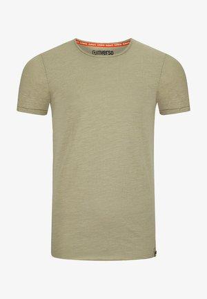 RIVJONAS - Basic T-shirt - middle green