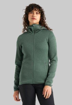 Zip-up sweatshirt - sage