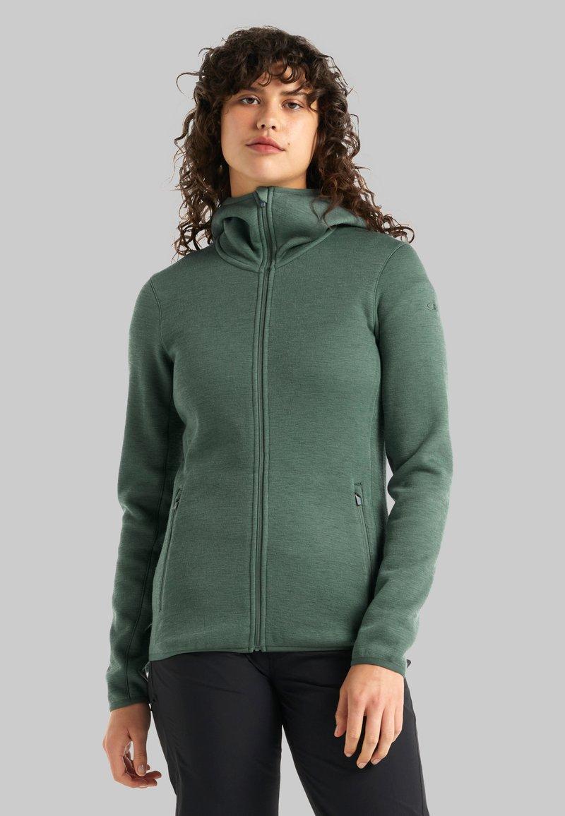 Icebreaker - Zip-up sweatshirt - sage