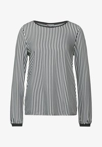 Street One - MIT PRINT - Long sleeved top - grau - 2